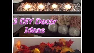Diy Bookshelf & Table Decor