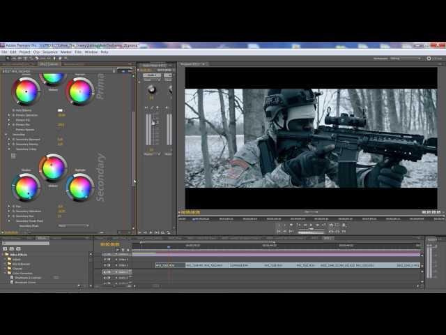 color grading film software