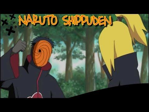 Naruto Shippuden EP 112 Deidara E Tobi Na Captura Da 3 Caudas|Momentos Engraçados| Dublado HD