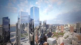 SOM Unveils Manhattan West Development Plans (4K)