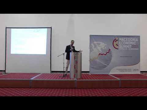 07  Filip Misovski at the Macedonia Economic Summit Leadership Talks