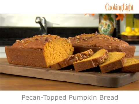 How To Make Delicious Yet Light Pumpkin Bread   MyRecipes