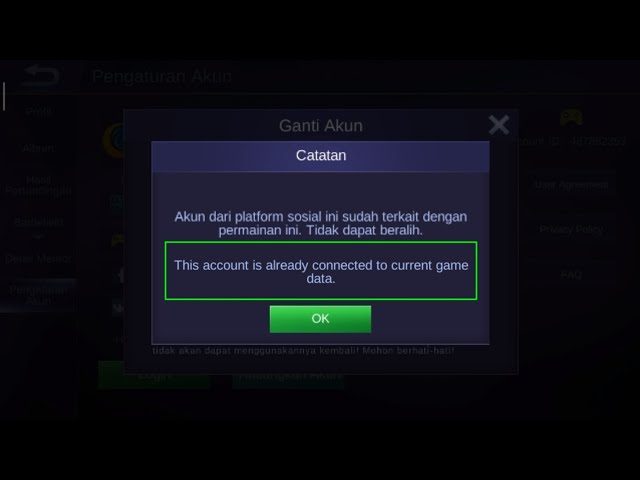 How To Switch Account In Mobile Legends Using Google Play