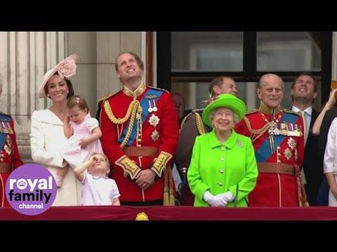 Princess Charlotte makes Buckingham Palace balcony debut