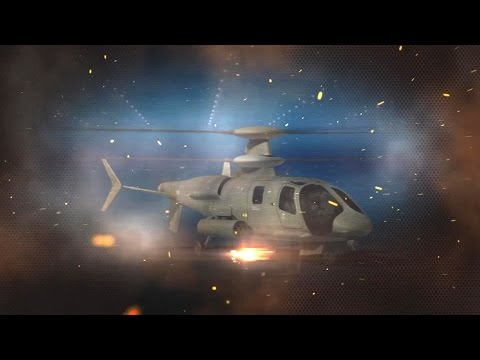 United Technologies - Sikorsky S-97 Raider Multi-Role Attack Helicopter Introduction [1080p]
