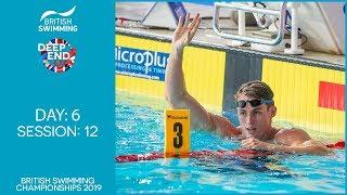 British Swimming Championships 2019 - Session 12