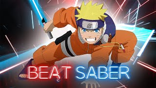 Beat Saber - Naruto OP - Go!!! by Flow | FULL COMBO Expert