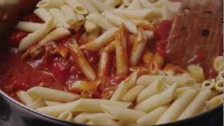 How To Make Baked Penne With Italian Sausage