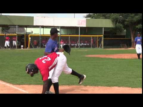 JanCarlos Martinez 2015 Dominican Prospect Benito Santiago Baseball Academy