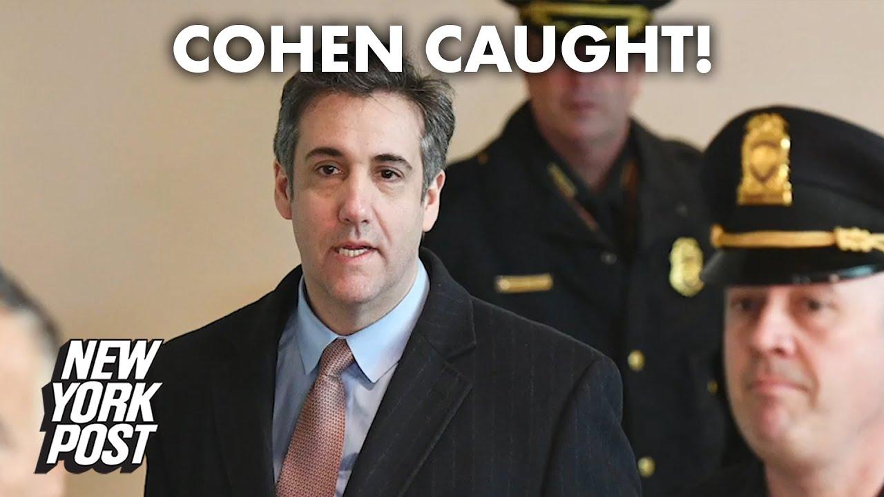 Ex-Trump lawyer Michael Cohen taken into custody after restaurant jaunt | New York Post