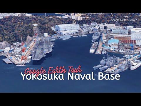 Yokosuka: Google Earth Studio tour (HD)