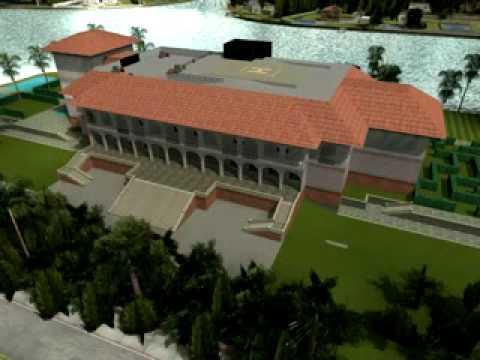 GTA Vice City Rendering 2 Diaz Mansion YouTube