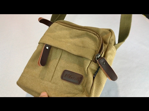 Canvas EDC pouch bag by Fularuishi review