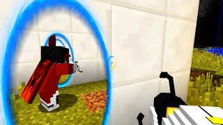 Real Working Portals In Minecraft