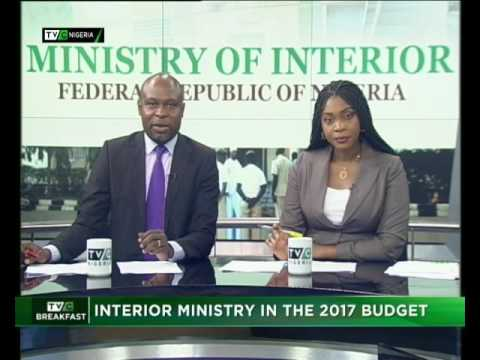 Interior Ministry in the 2017 Budget