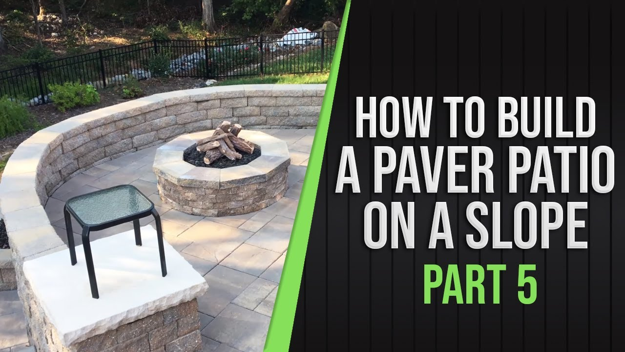 Part 5   How To Build A Paver Patio On A Slope, 1yr Later