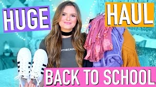 HUGE Fall Back to School (Try-On) Clothing Haul 2016!