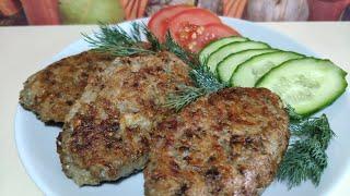 Овсяные котлеты как с мясом, но с грибами! Вкусный и простой рецепт постных котлет!