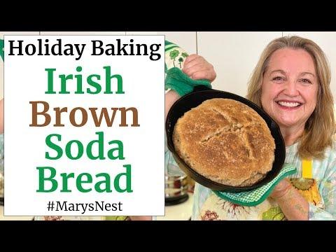 Traditional Irish Brown Soda Bread Recipe for St. Patrick's Day