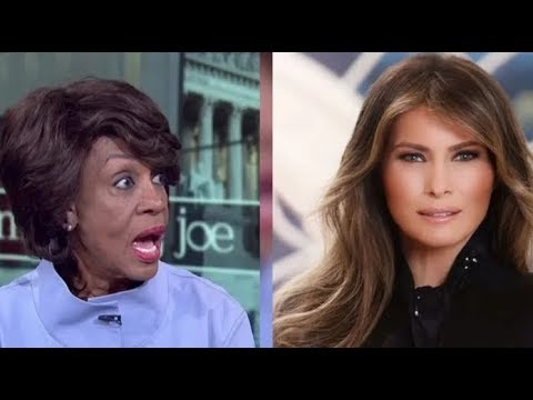 MAXINE WATERS JUST ATTACKED MELANIA TRUMP! SUDDENLY EVERYONE NOTICED WHAT WAS WRONG WITH HER!