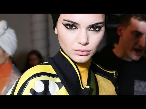 Kendall Jenner Flashes Her Nipples OF COURSE at New York Fashion Week 2017