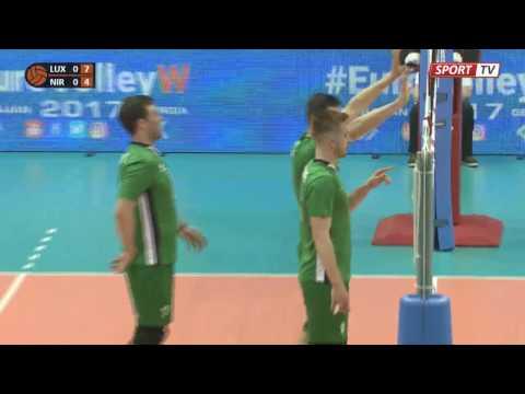 Record from/Upptaka frá Volleyball LUXEMBOURG - N-Ireland 14 apríl 2017