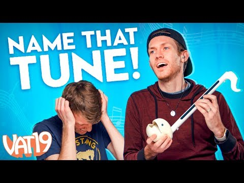 Can you name 8 songs played on the weird Otamatone?