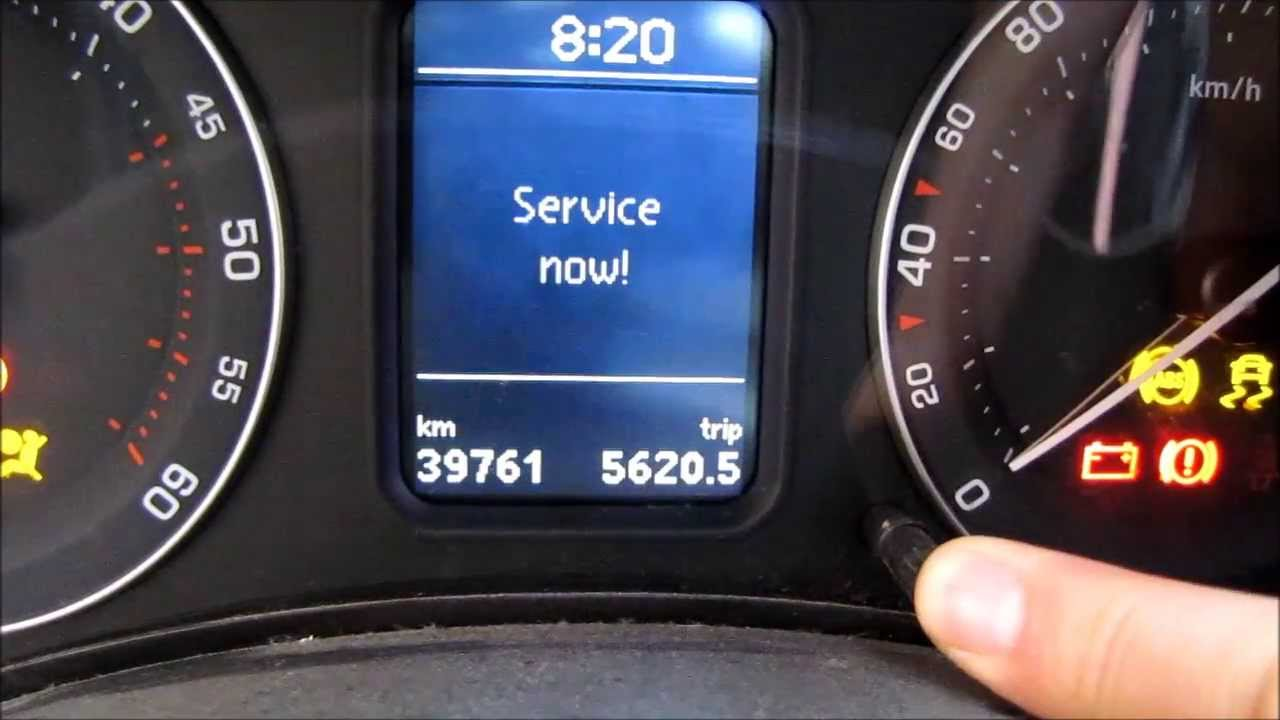 Resetare interval service Skoda Octavia 2, audio: Romana ...