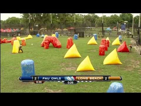 2015 National Collegiate Paintball Association Championships- Cal State Long Beach vs. FAU