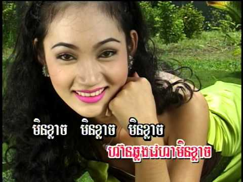 (Sing along)(Khmer Karaoke) Sat Her Arng Slab / សត្វហើរអាងស្លាប