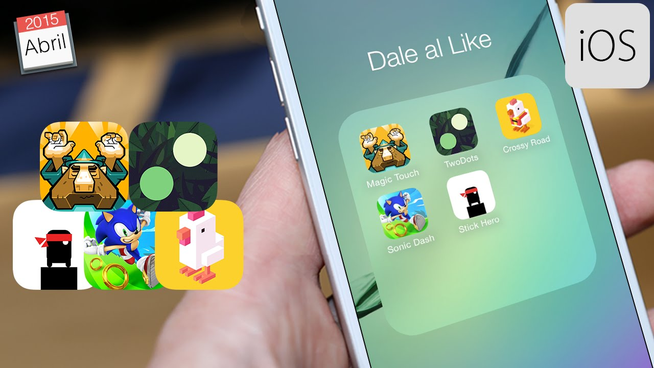 Los Mejores Juegos Gratis Para Iphone Y Ipod Touch Abril 2015