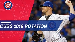 Take a look at the projected 2018 Cubs rotation