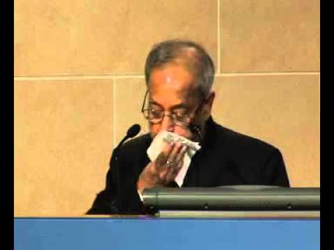 Finance Minister Mukherjee: India and the World