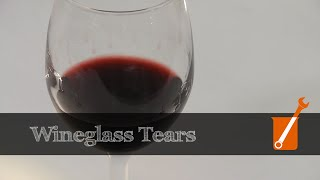 The science of wineglass tears (or wine legs)