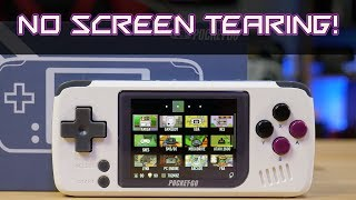 Pocket Go's Newest Firmware 1.3!!!   NO MORE SCREEN TEARING!!  