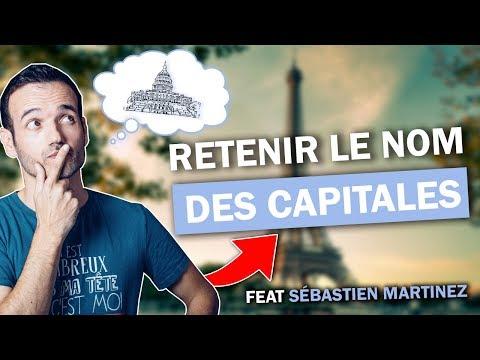 COMMENT RETENIR LE NOM DES CAPITALES Avec Un Champion De Mémoire !