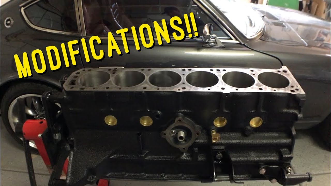 Performance modifications to the Datsun Z engine