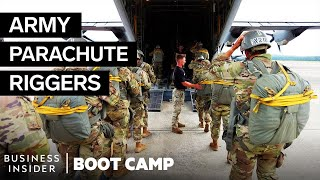 How Army Riggers Pack 75,000 Parachutes A Year At Airborne School | Boot Camp