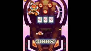 Kirby Mass Attack Subgames - Kirby Brawl Ball Gameplay
