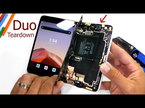 Microsoft Duo Teardown - We lost a good one.... 😢