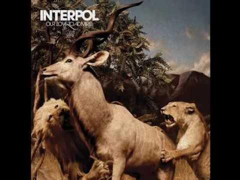 Interpol-Pace is the Trick [lyrics]