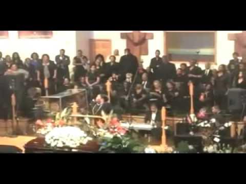 Kathy Taylor Brown & Yolanda Adams - Albertina Walker Funeral