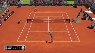 AO tennis 2 - ATP montecarlo 2 turno