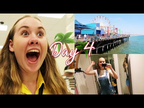 SANTA MONICA & THE MISSION FOR TARGET | CALIFORNIA DAY 4