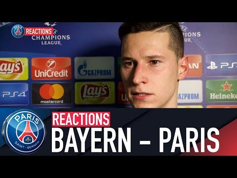 REACTIONS : FC BAYERN MUNICH - PARIS SAINT-GERMAIN