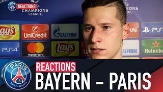REACTIONS : FC BAYERN MUNICH - PARIS SAINT-GERMAIN