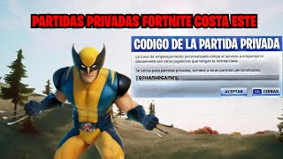 🇨🇴 PARTIDAS PRIVADAS FORTNITE CON SUBS COSTA ESTE gohanHDgames