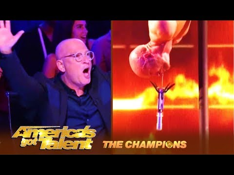 Alex Magala: Russian Champion Insane DEATH DIVE To Win World Title | Americas Got Talent: Champions