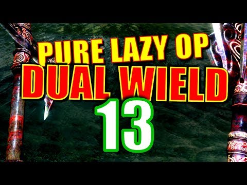 Skyrim Pure Lazy OP Dual Wield Walkthrough Part 13: Speech Check Challenge Run 2 thumbnail
