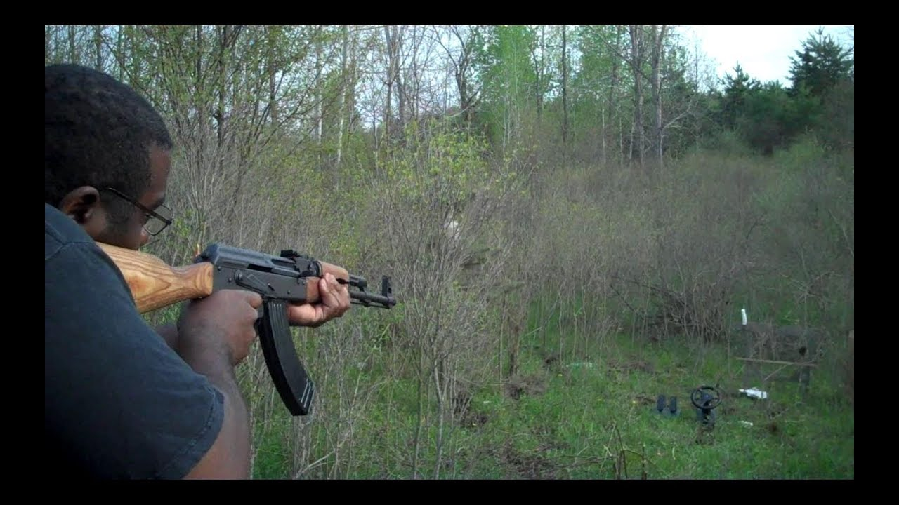 AK 47 Vs Phone Review Of Golden Tiger Ammo